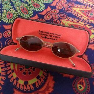 47a0d9b9caea emmanuelle Khan Accessories   Rare Emanuelle Khanh Sunglasses   Poshmark